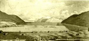 Вид Капитанской гавани на острове Уналашка
