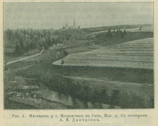 Местность у с.Петровского на Сити