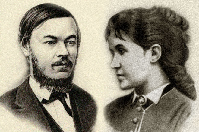 Иван Сеченов и Мария Бокова
