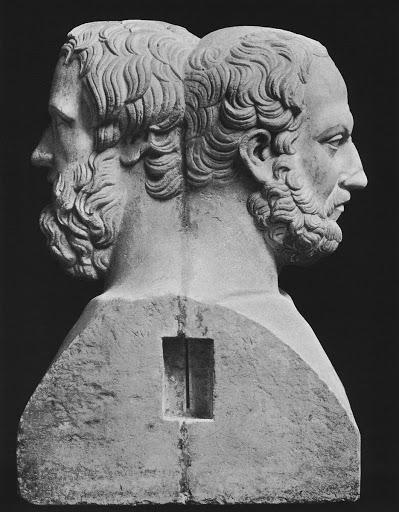 Двойная герма Геродота и Фукидида