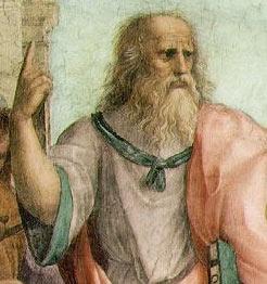 Платон на фреске Рафаэля